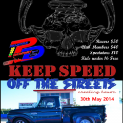 Coming This Friday 30th May – Keep Speed off the Streets