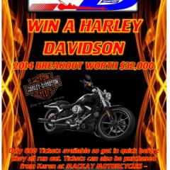 Win a Harley Davidson 2014 Breakout
