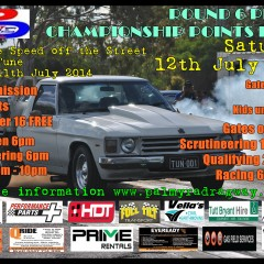 Palmyra Dragway Presents – Keep Speed off the Streets Friday 11th July