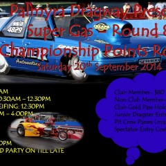 Palmyra Dragway Presents (SUPER GAS) Round 8 Championship Points Round