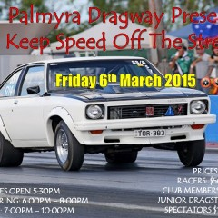 Palmyra Dragway Presents: Keep Speed Off The Streets