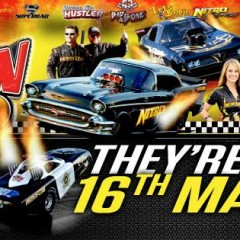 Aeroflow Outlaw Nitro Funny Cars Event – Round 3 Championships – Happening May 16th