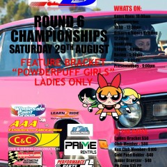 Palmyra Dragway Presents – Round 6 Championships Feature Bracket – Powderpuff Girls