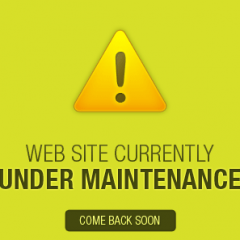 Website is currently under maintenance