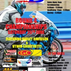 Palmyra Dragway Presents: Round 4 Championships – Saturday 25th June 2016