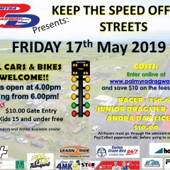 Keep The Speed Off The Streets – 13th March 2020